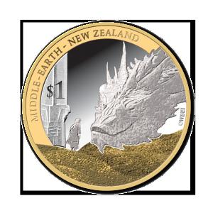 2014 NZ $1 Bilbo and Smaug