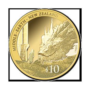 2014 NZ $10 Bilbo and Smaug