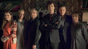 Cast of Sherlock