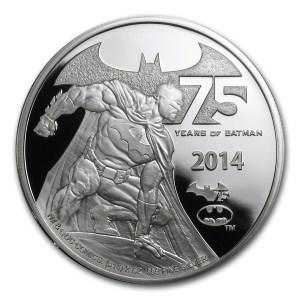 Niue Batman Silver Reverse