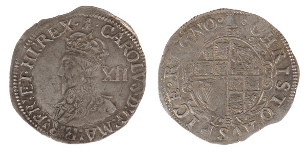Charles I Shilling