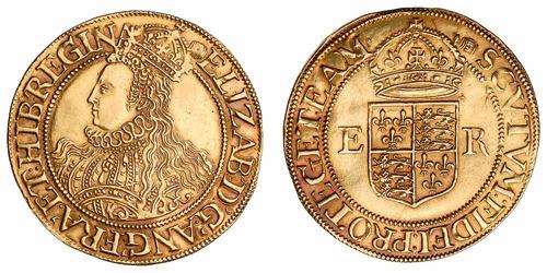 Elizabeth I Half Pound