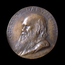 Numismatic Remembrances of Charles Darwin