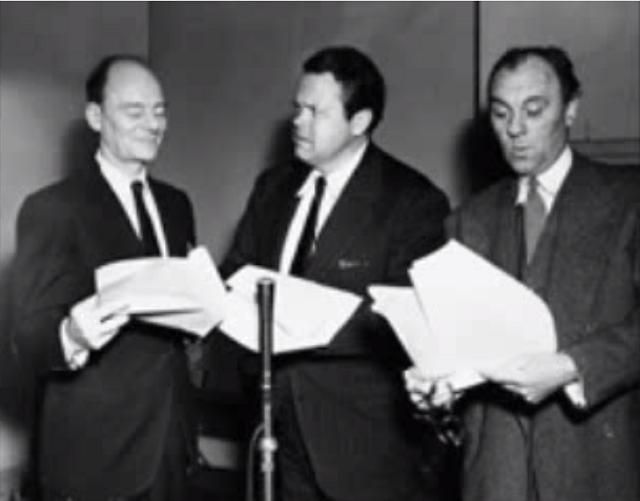 Sir John Gielgud, Orson Welles, Sir Ralph Richardson - BBC Radio 1954
