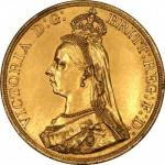 1887 Victoria Jubilee Gold Obv.