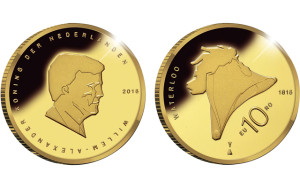 2015 Netherlands Waterloo 10 Euro