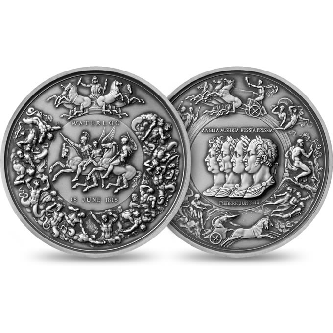 2015 Pistrucci Waterloo Medal