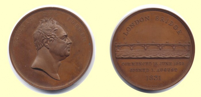 London Bridge Opening Medal