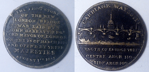 London Bridge Opening Token