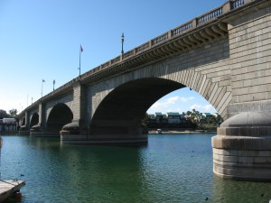 London Bridge Relocated to lake Havasu