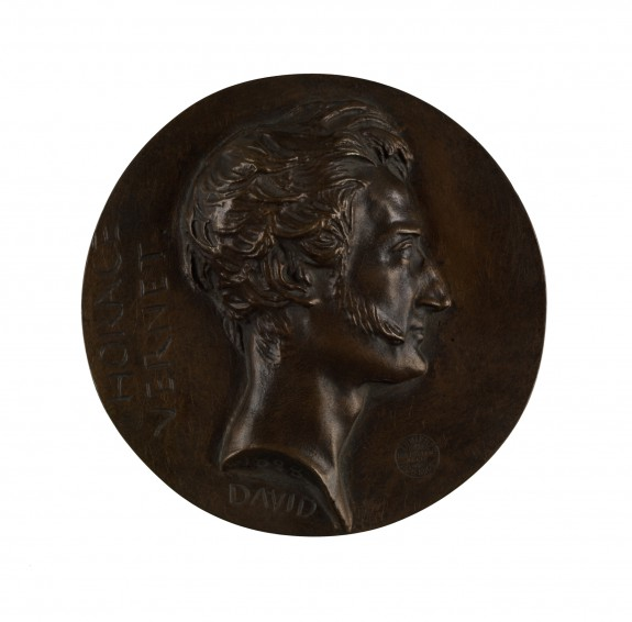 Vernet Medal by d'Angers