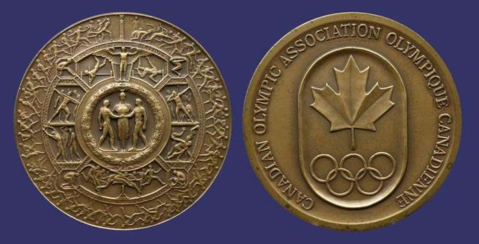 COC Shield of Athletics Medal