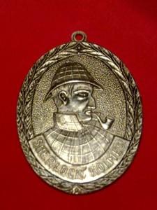 Aluminum Medal 65x45mm