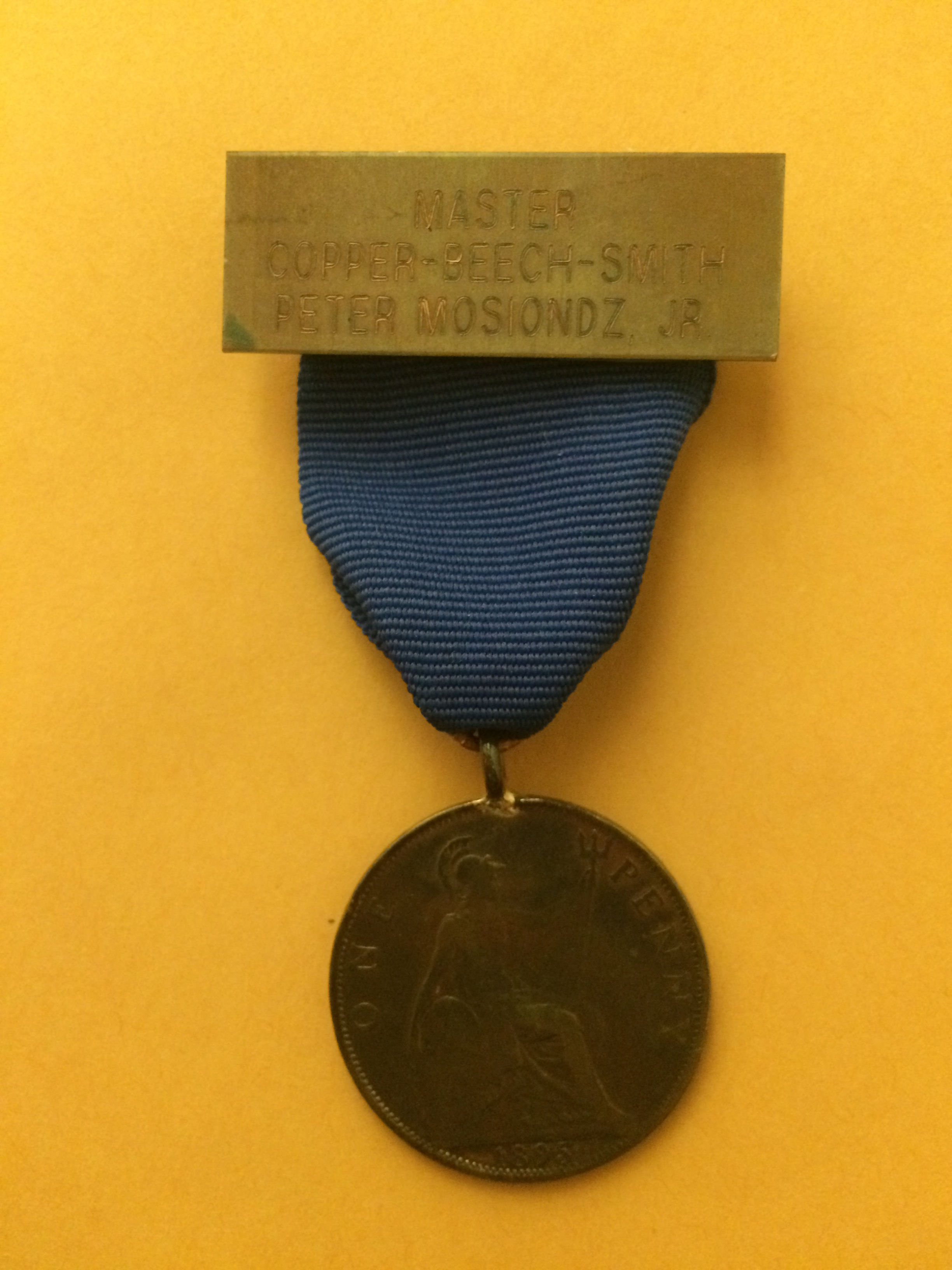 SOCB's Master Copper-Beech-Smith's Badges