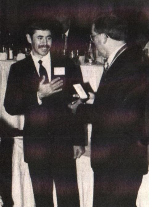 Shagin Recognized for Medallic Achievements (1990)
