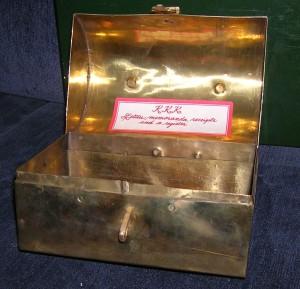 Brass Box Inside