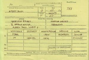 FIVE - telegram to harbormaster