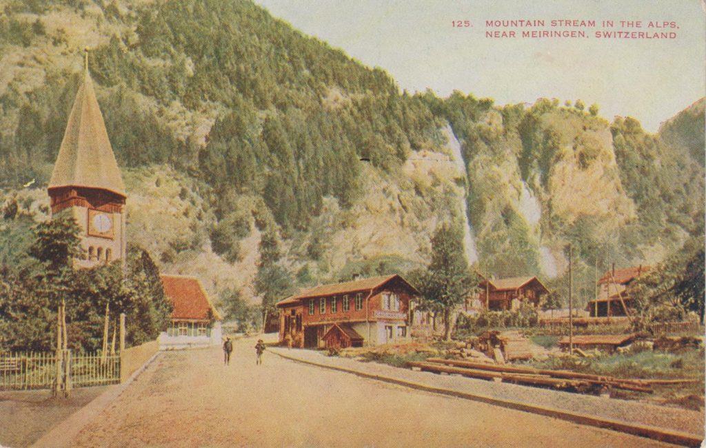 Postcards - Meiringen