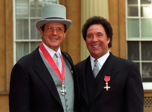 Roger Moore CBE