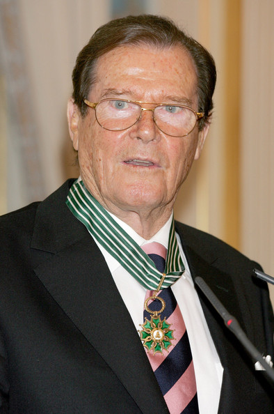 Roger Moore - French Commander of Arts and Letters