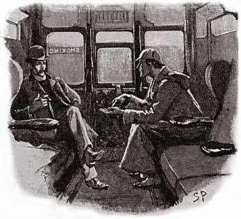 Illustration by Sidney Paget in The Strand Magazine - December 1892