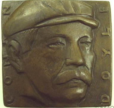 Alex Shagin's 1991 Portrait Medal of Arthur Conan Doyle