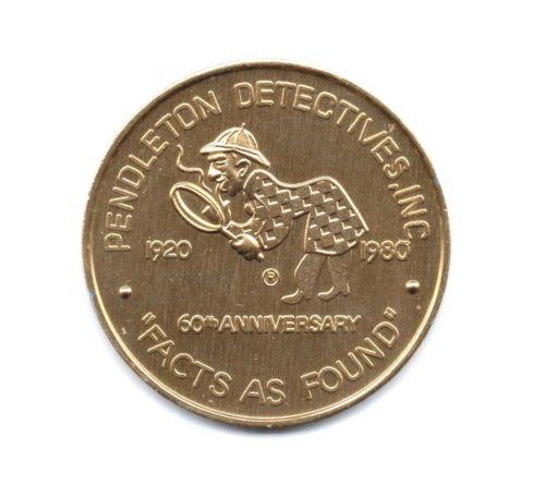 Two Sherlockian Tokens From Pendleton Detectives