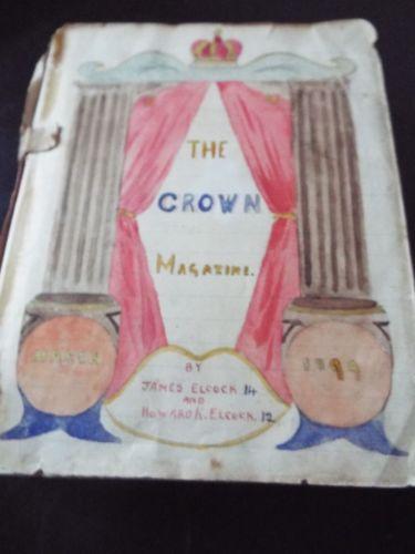 Childhood Sketchbook of 3GAR Illustrator Howard K. Elcock