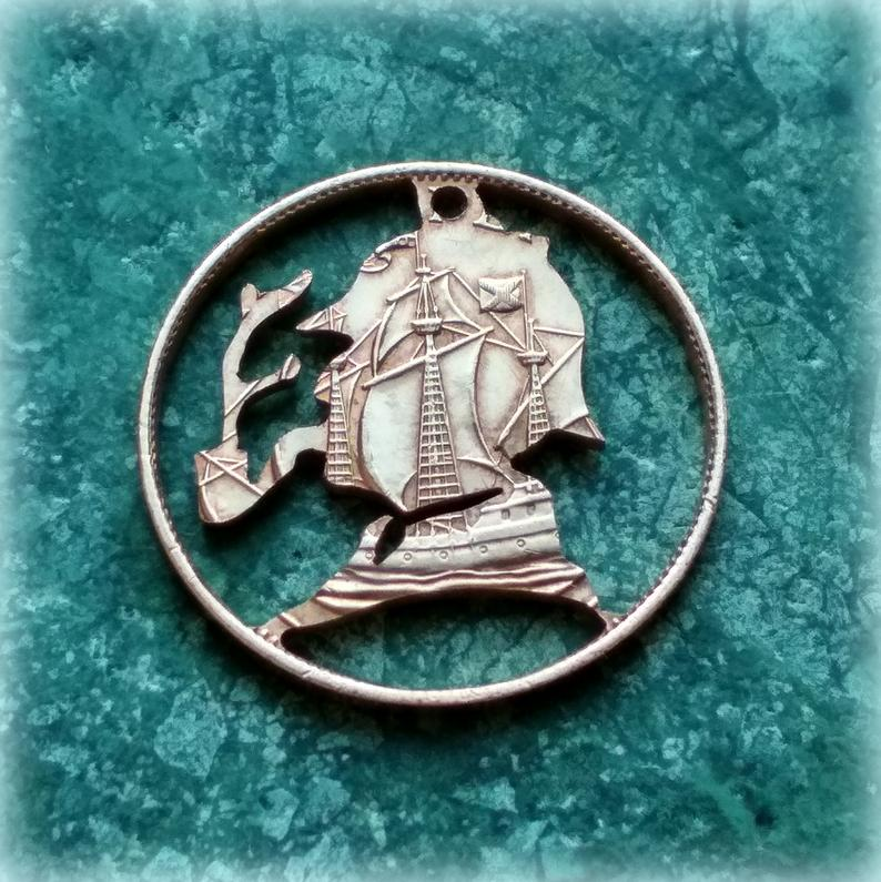 Sherlockian Themed Coin Art