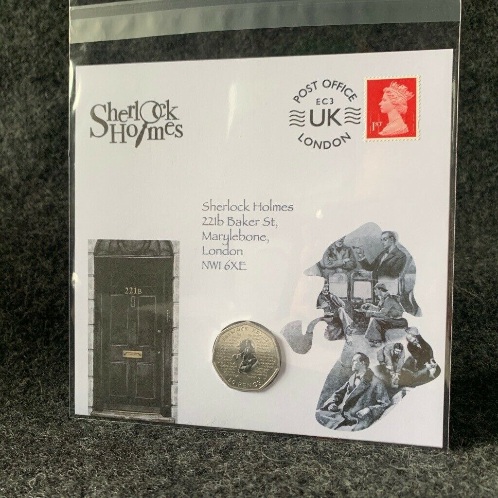 CoinCollective's Sherlock Holmes 50 Pence PNC & other Post-Mint Modifications