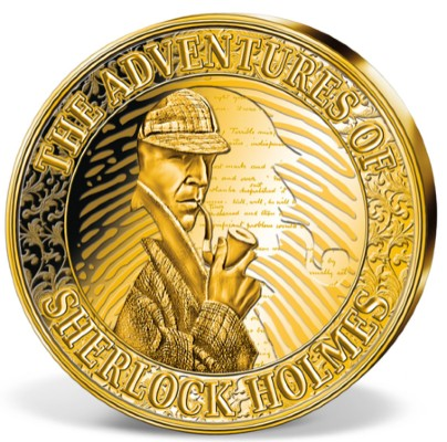 Windsor Mint Issues Series of Sherlock Holmes Medals