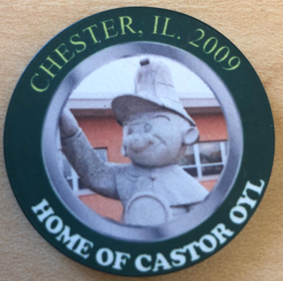 The 2009 Castor Oyl Poker Chip