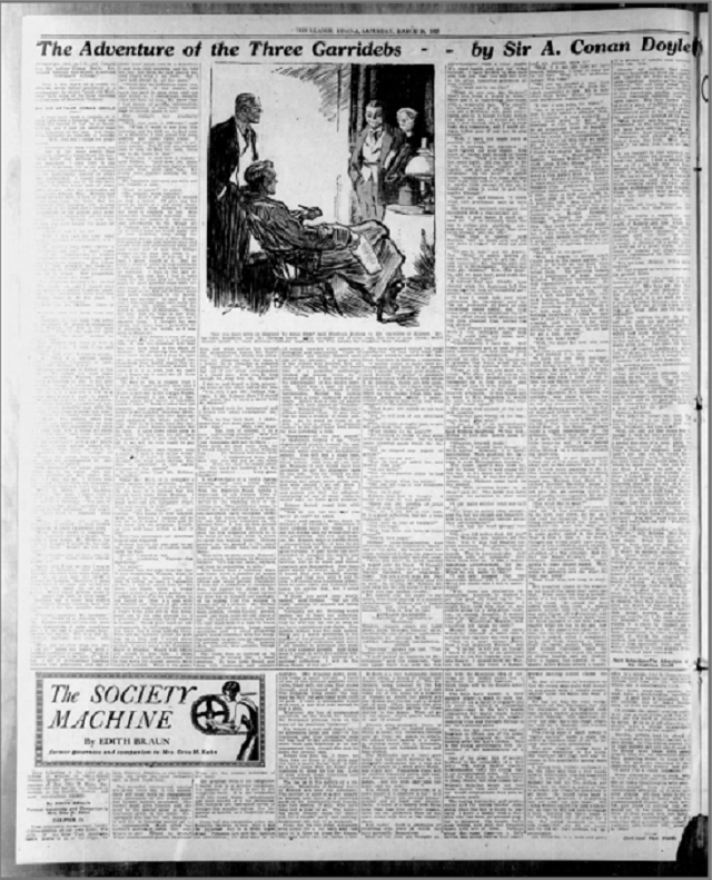 The Leader-Post of Regina, Saskatchewan Published 3GAR (3/28/1925)