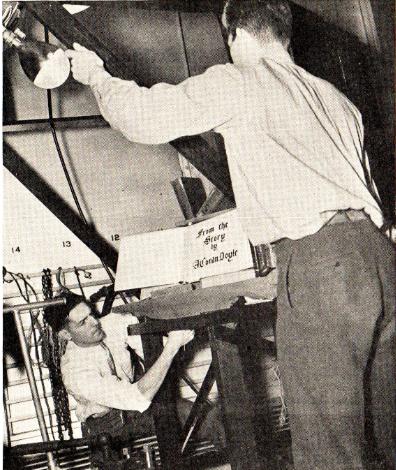 TFG to do Virtual Reading of 3GAR 1937 TV Script