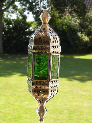 Nickle finish lamps from Bhatik