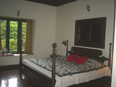 A warm clean bedroom