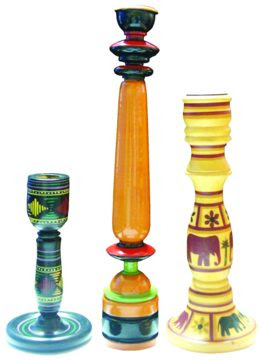 Candle stands and knick knacks from Avenues, Bangalore