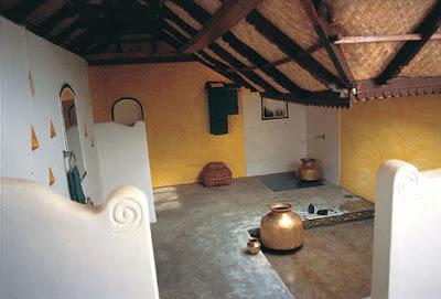 bathroom area at Vishram beach house