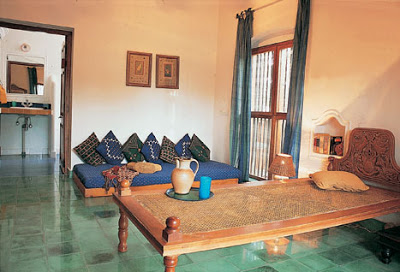bedroom at Vishram beach house