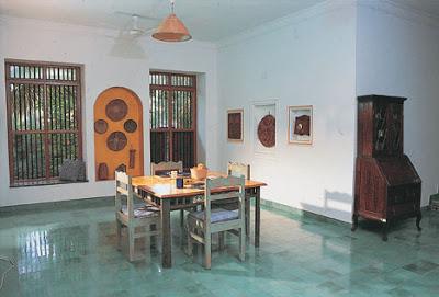 diining room area at Vishram beach house