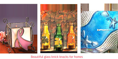 The beautiful pieces of glass painting from Glass Expressions