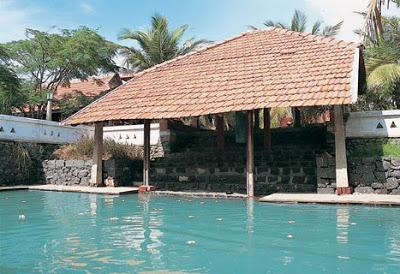 ground pool at Vishram beach house