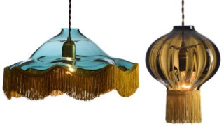 Vintage lamps - Tassel lights inspired by Victorian decadence