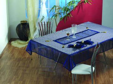 Table cloth from Shehnaz Exports, Mumbai