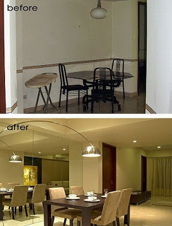 before and after room makeover
