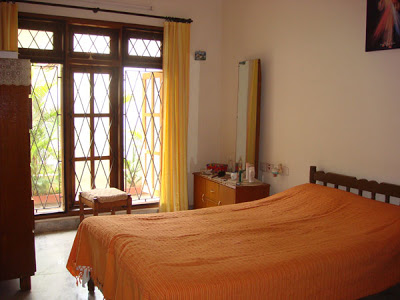 The Indian style bedroom