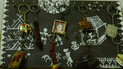 Warli Key Chain Holder
