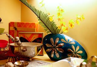 beautiful enameled vase uploaded by Sujatha Giri