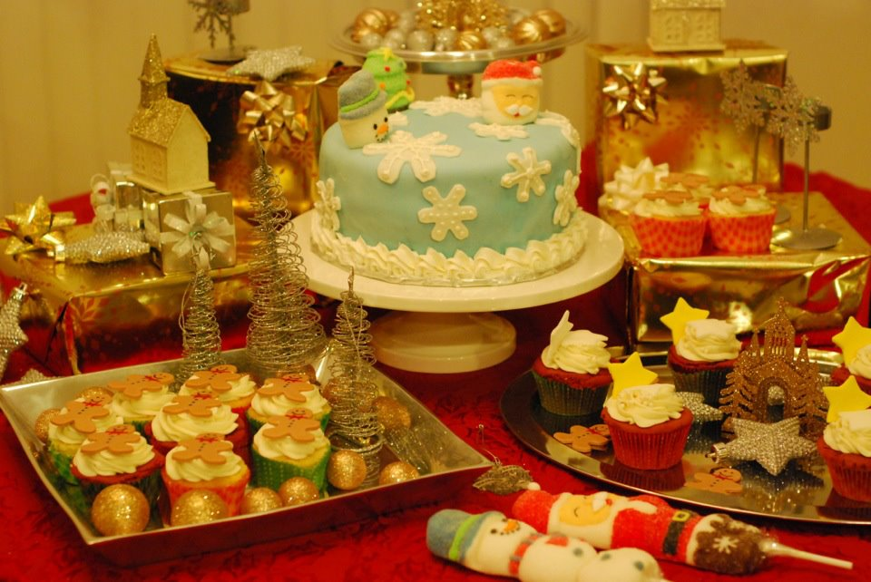 Designing the Dessert Table by Deepa of Aalayam!
