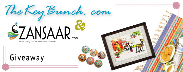 Zansaar sponsored a giveaway here for The Keybunch readers